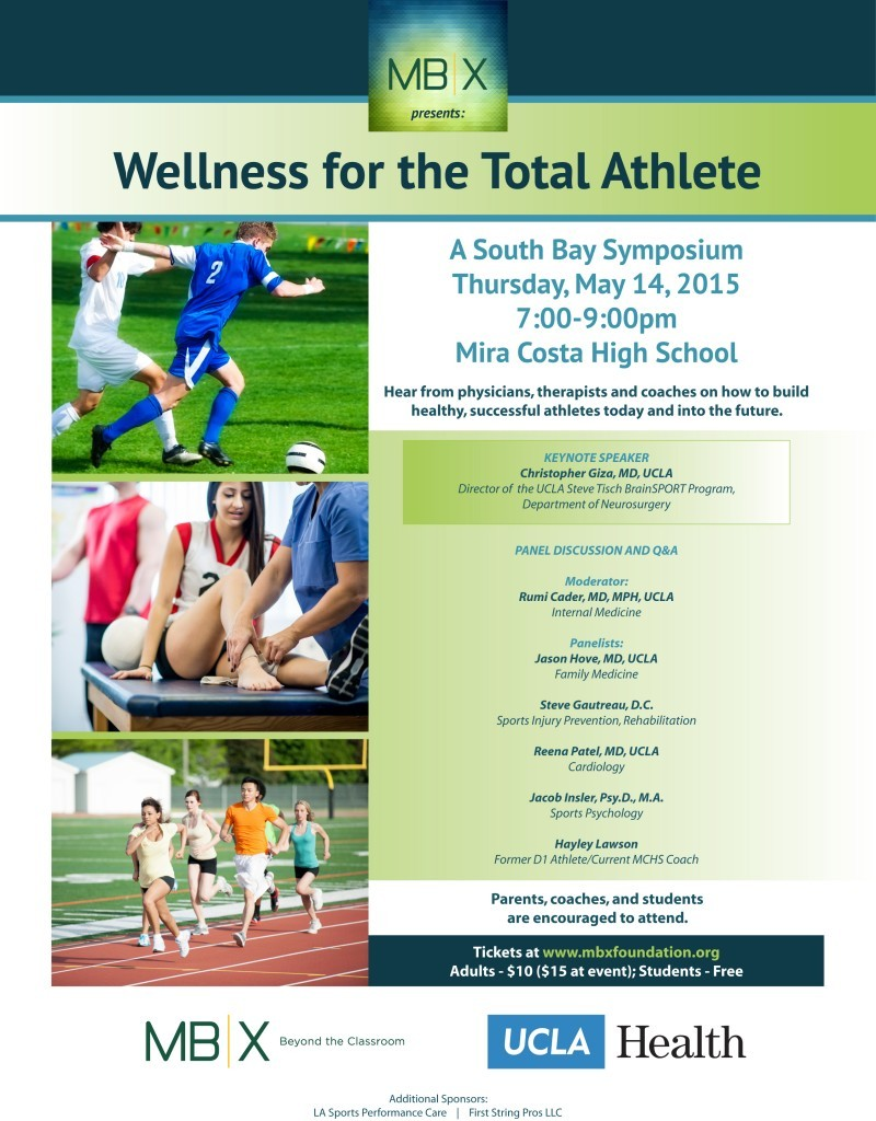 UCLA Health and MBX Presents: Wellness for the Total Athlete
