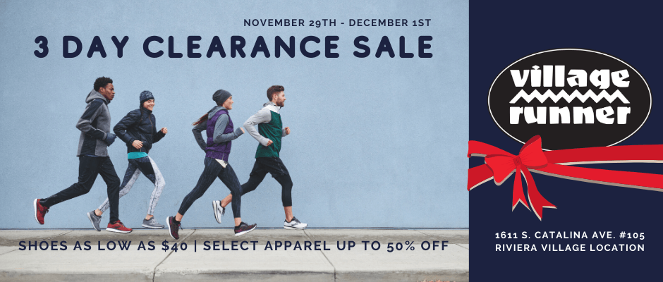 3 Day Clearance Sale – November 29-December 1st
